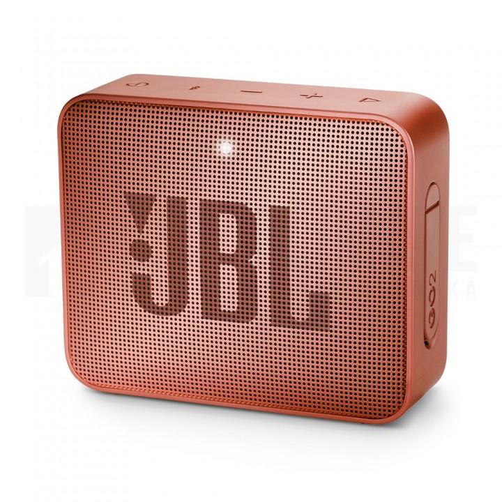 Беспроводная колонка JBL Go 2 Sunkissed Cinnamon, коричневая