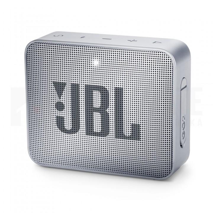 Беспроводная колонка JBL Go 2 Ash Grey, серая