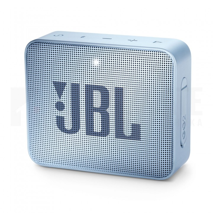 Беспроводная колонка JBL Go 2 Icecube Cyan, Аква