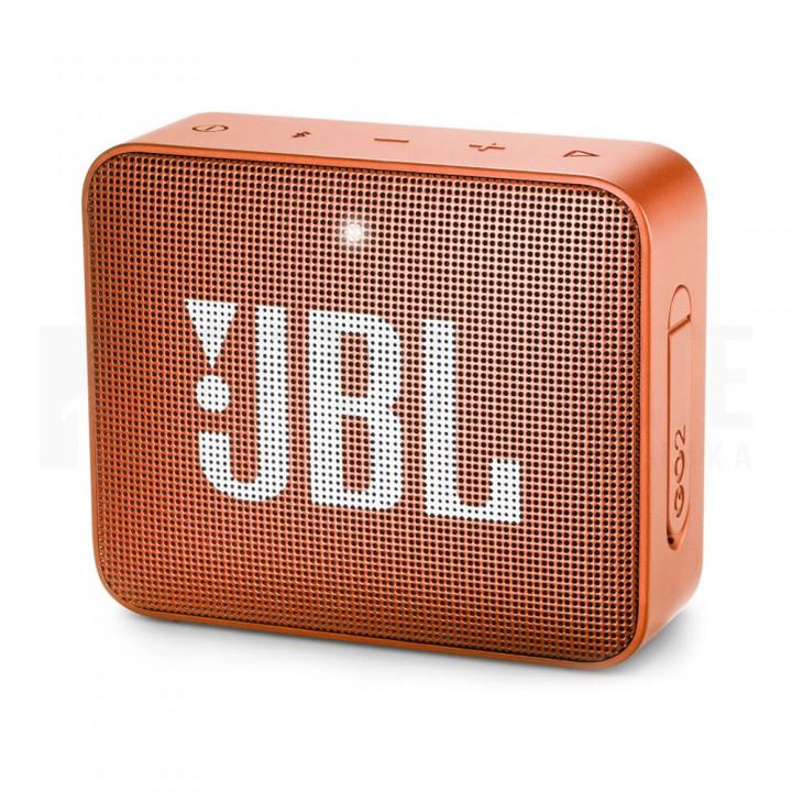 Беспроводная колонка JBL Go 2 Orange, оранжевый