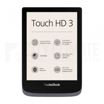 Электронная книга PocketBook Touch HD 3, Серая