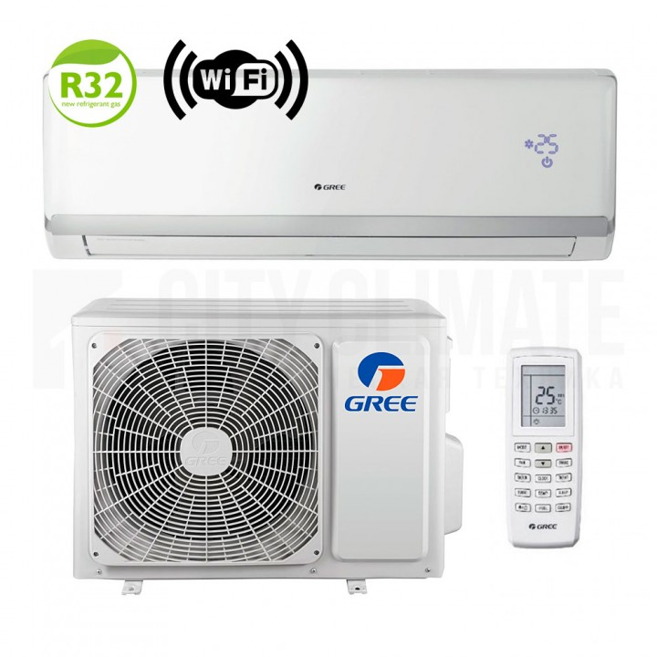 Сплит-система Gree Bee Techno Inverter R32 GWH12QB-K6DNA5I (Wi-Fi)