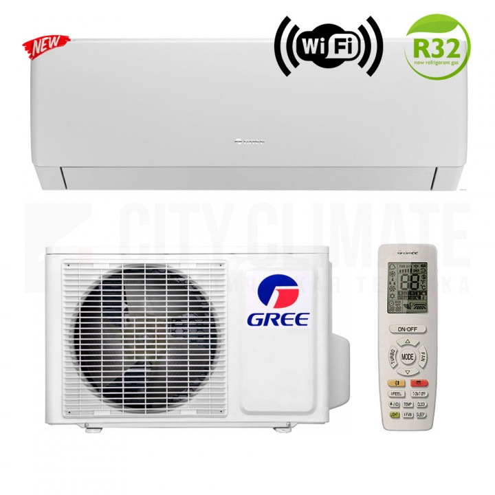Сплит-система Gree Pular Inverter Eco R32 GWH24AGD-K6DNA4C
