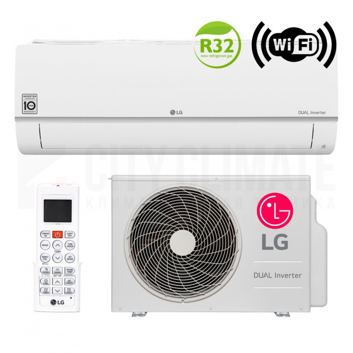 Кондиционер LG Eco Smart Dual Inverter PC18SQ