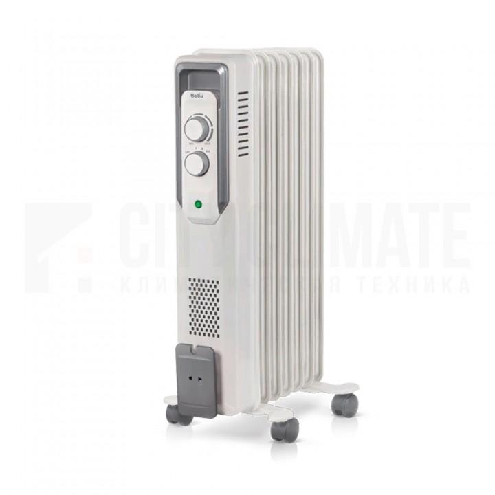 Масляный радиатор Ballu CUBE BOH/CB-07W (7 секций)