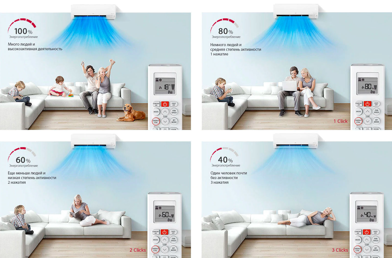 Сплит-система LG ECO SMART PC09SQ